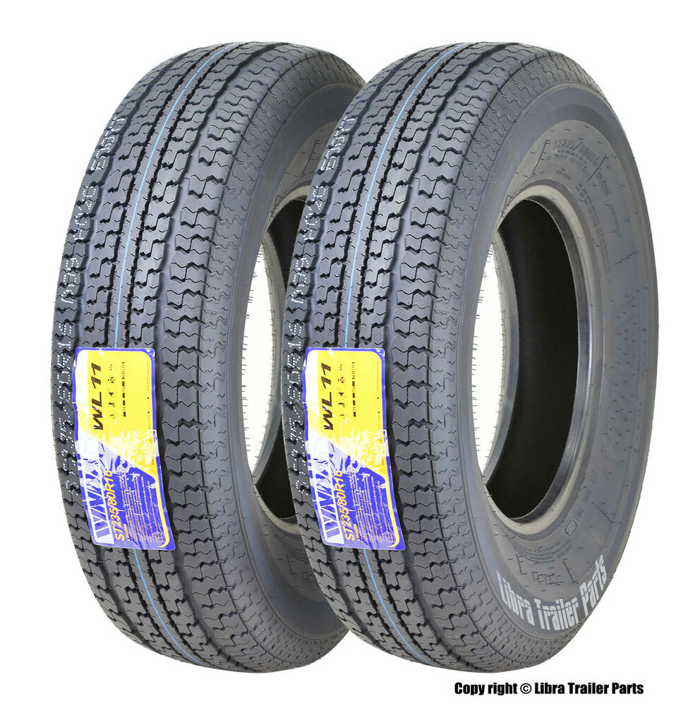 E Rated Trailer Tires 2 New Trailer Tires ST235