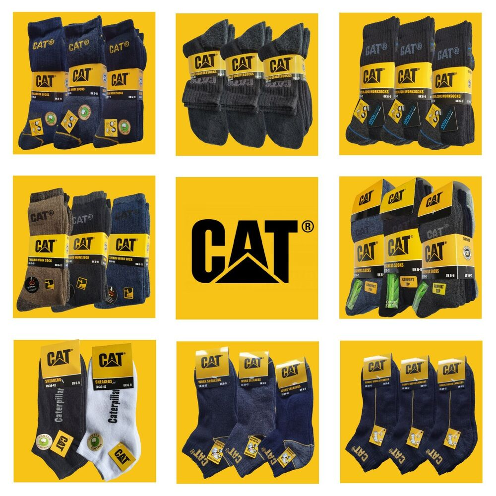 cat caterpillar mega auswahl arbeitssocken sneakersocken. Black Bedroom Furniture Sets. Home Design Ideas