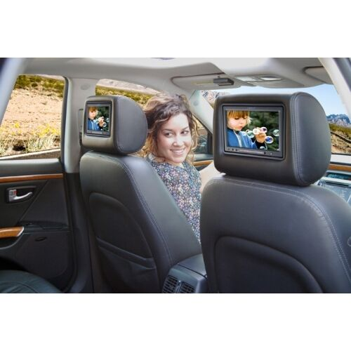 "Pilot Vi Home: Vizualogic 7"" A-1260 DVD Headrests"