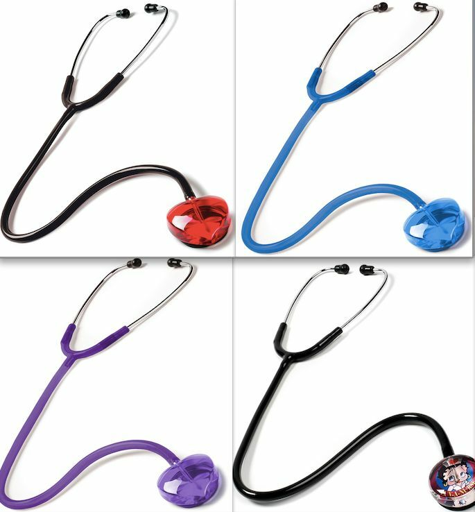 Prestige medical heart stethoscope choose your color for Stethoscope coloring page