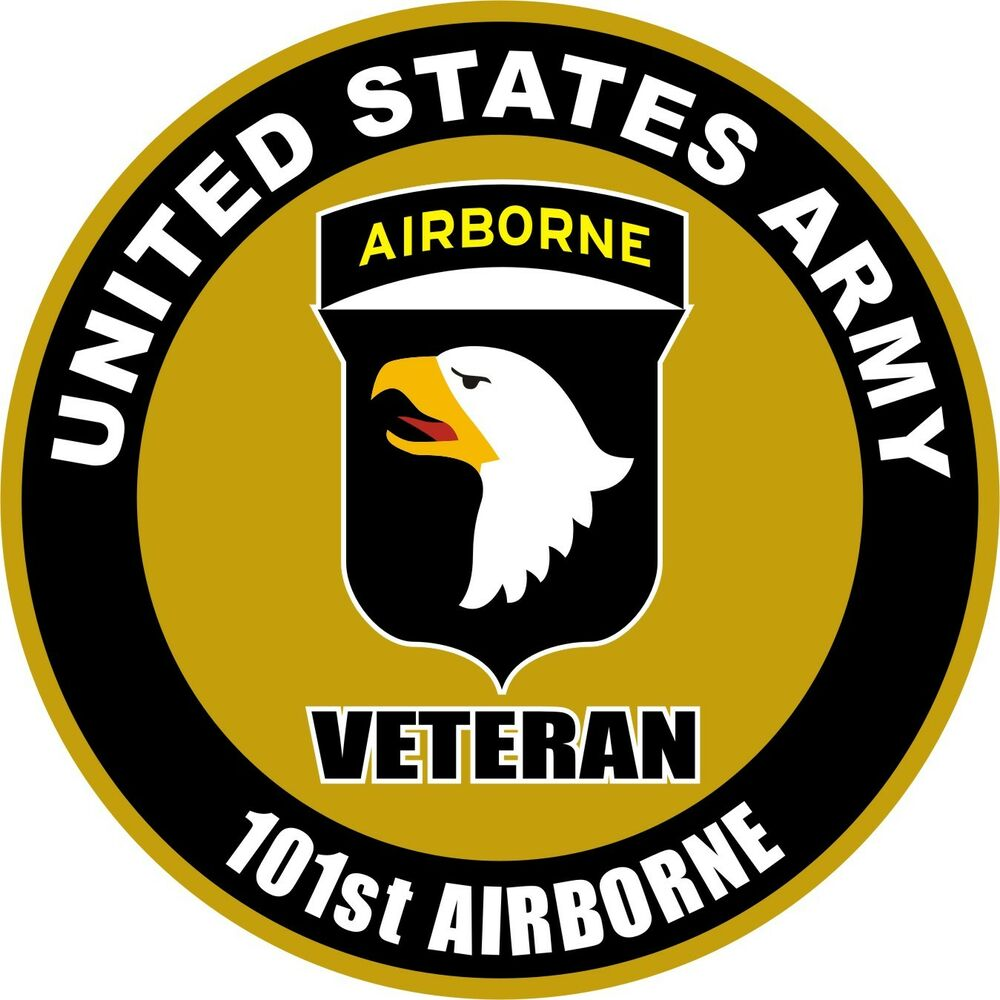 United states army veteran 101st airborne decal window for 101st airborne window decals
