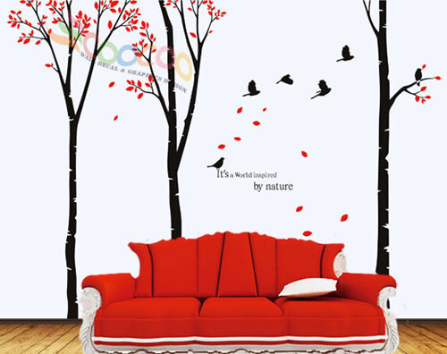 Wall Decor Decal Sticker Removable Large 90 Quot Birch Tree