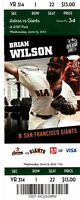 Matt Cain PERFECT GAME 6/13/12 season full ticket stub - gem mint condition