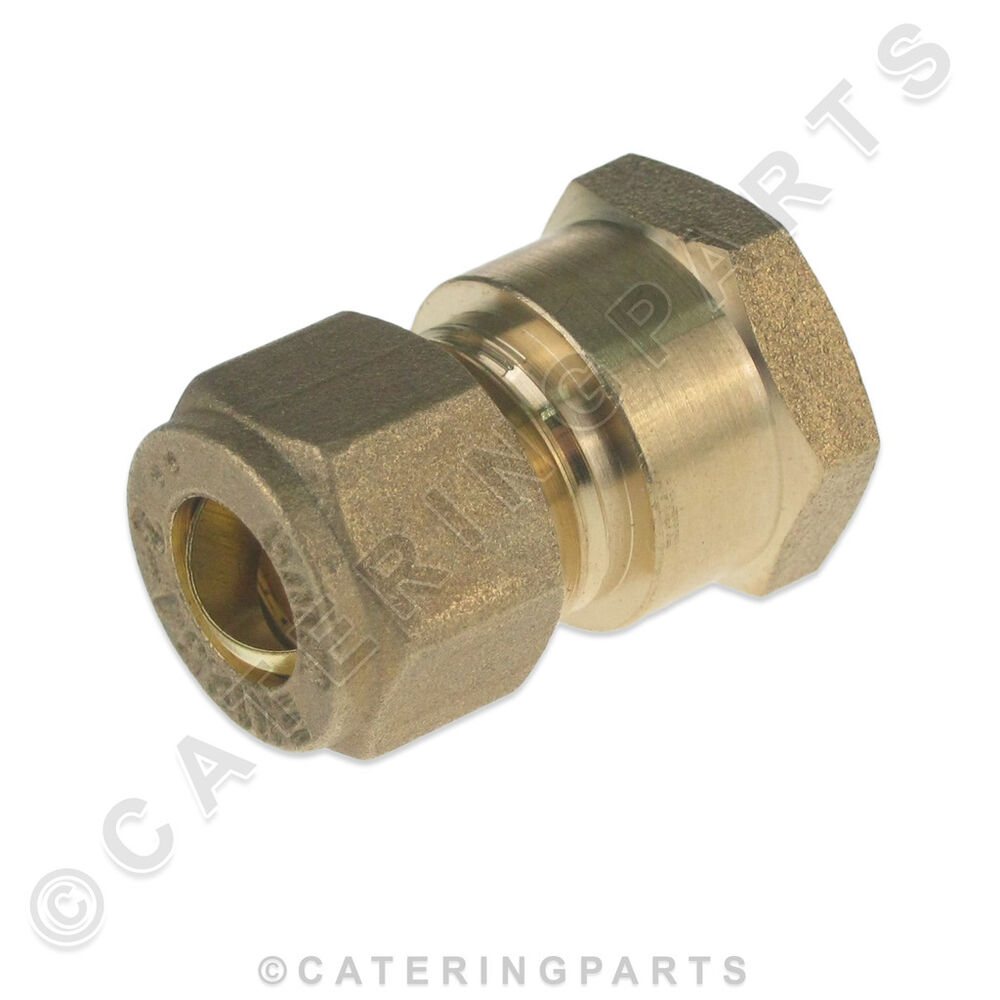 Mm copper compression fitting to quot bsp female thread