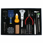 20pc Deluxe Watch Opener Repair Tool Kit Screwdrivers Watchband Link Pin Remover