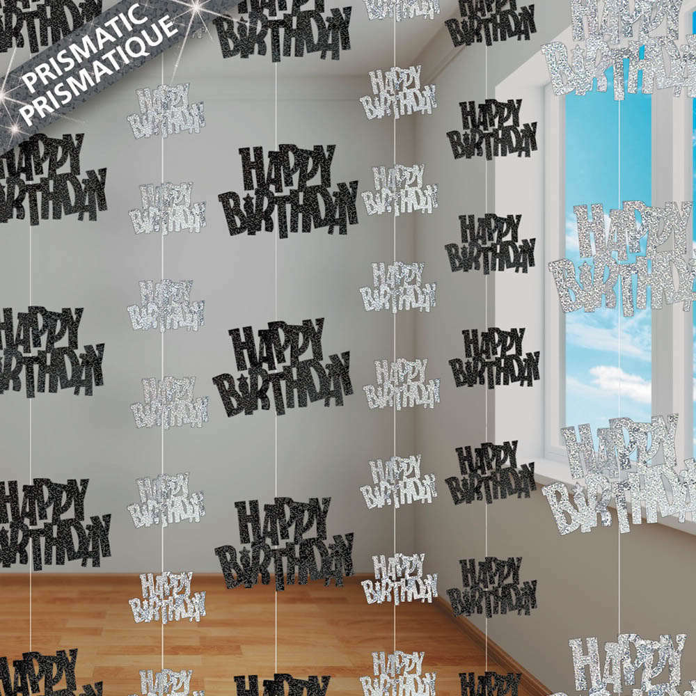 13th 100th happy birthday 5ft string strings glitz boy for 100th birthday decoration ideas