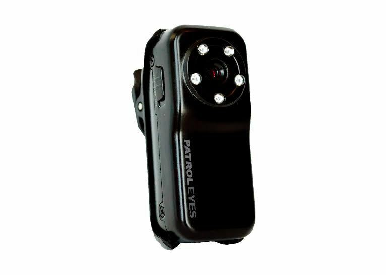 Patroleyes Hd Police Body Mini Metal Camera 720p Covert