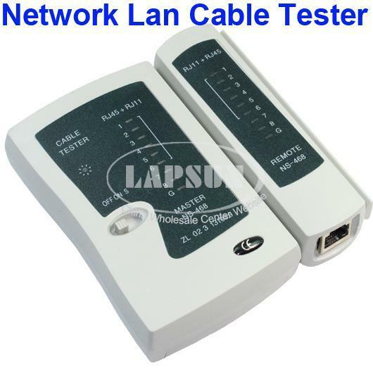 Network cable tester lan cat5 rj45 rj11 tool kit cat 5 cat for Canape network testing tool