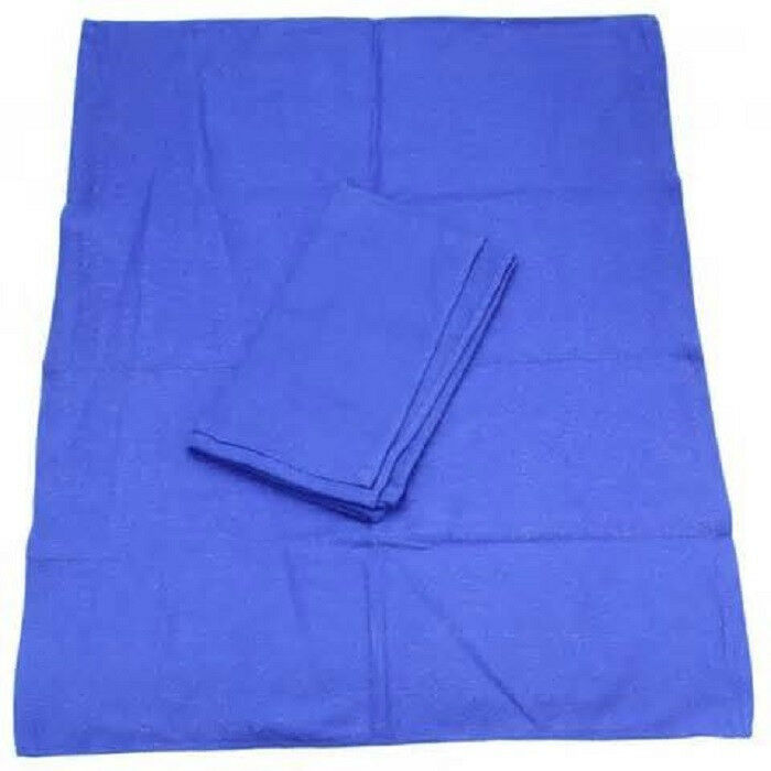 Huck Surgical Towels: 20 NEW BLUE GLASS CLEANING SHOP TOWEL/HUCK TOWELS