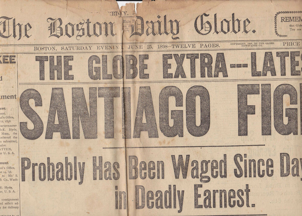 the history of the boston globe an american daily newspaper History of publishing - newspaper publishing: the number of american newspaper titles more selling many of its feature columns and comics to the daily news.