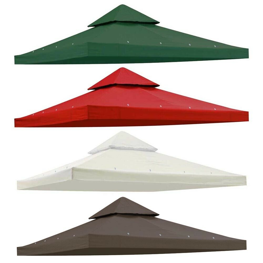 8 X8 2 Tier Gazebo Top Canopy Replacement 200g Outdoor
