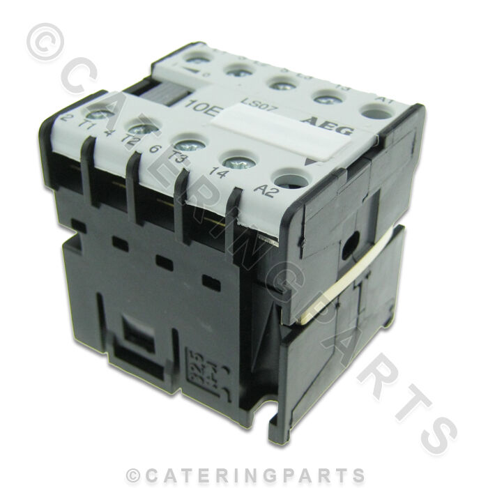 co01 aeg ls07 10e mini relay contactor 230v coil 3xn o 1xn o auxillary rated 16a ebay. Black Bedroom Furniture Sets. Home Design Ideas