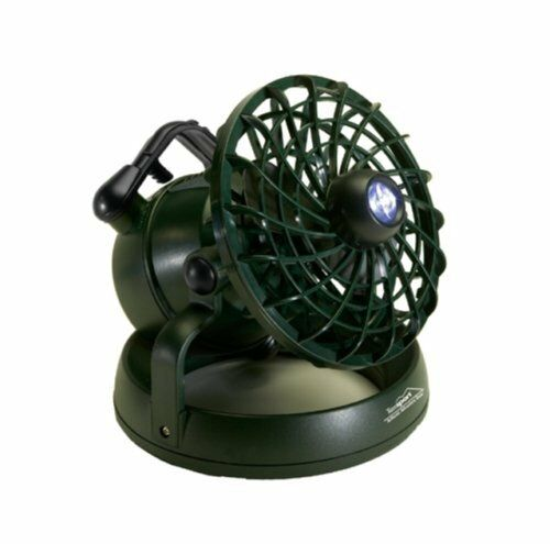 Texsport Camping Breeze Fan W Light Outdoor Cool Portable