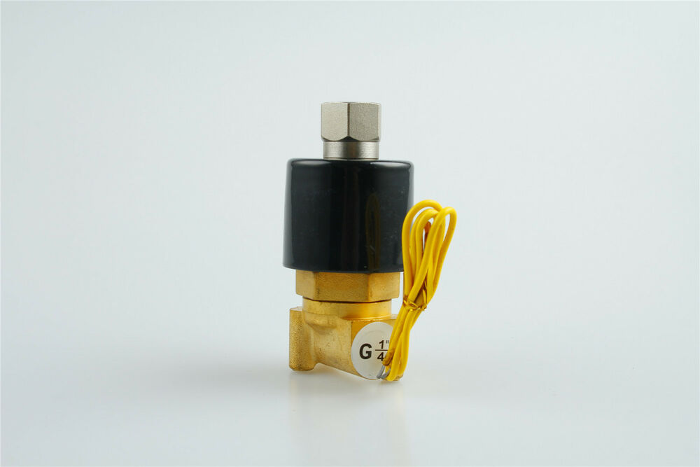 Electric Solenoid Valve Water Air N O 12v Dc 1 4 Quot Normally