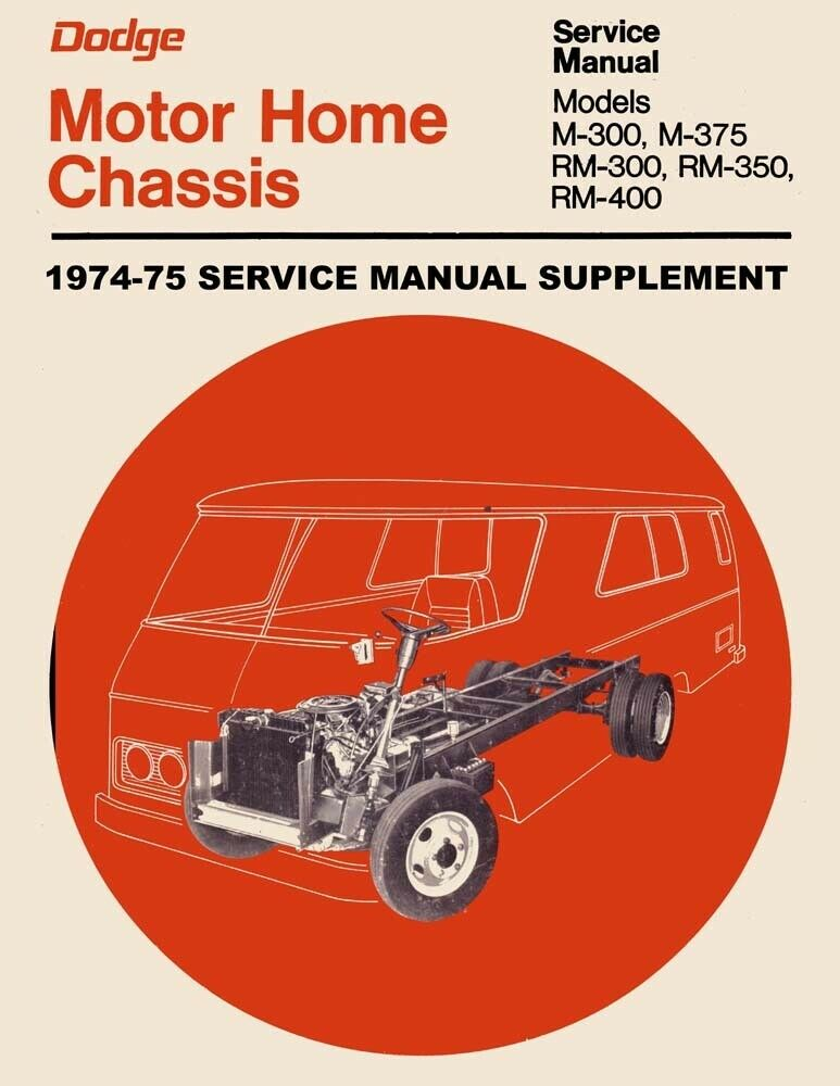 1979 dodge sportsman Rv manual