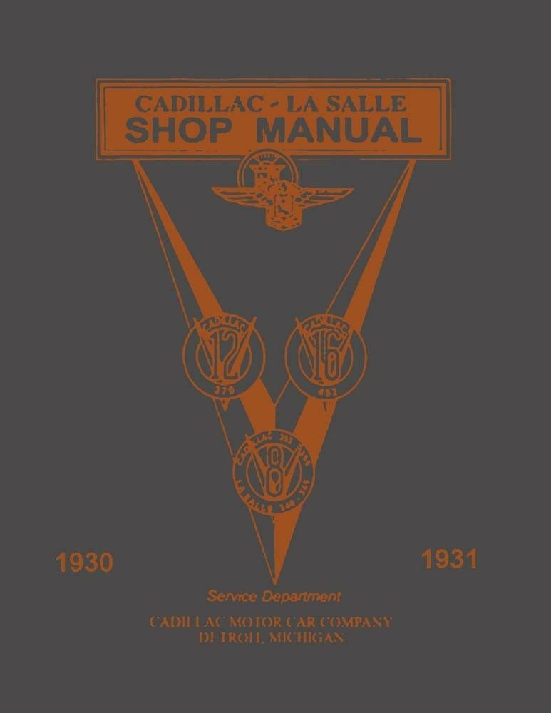 details about 1930 1931 cadillac lasalle service shop repair manual engine  drivetrain wiring