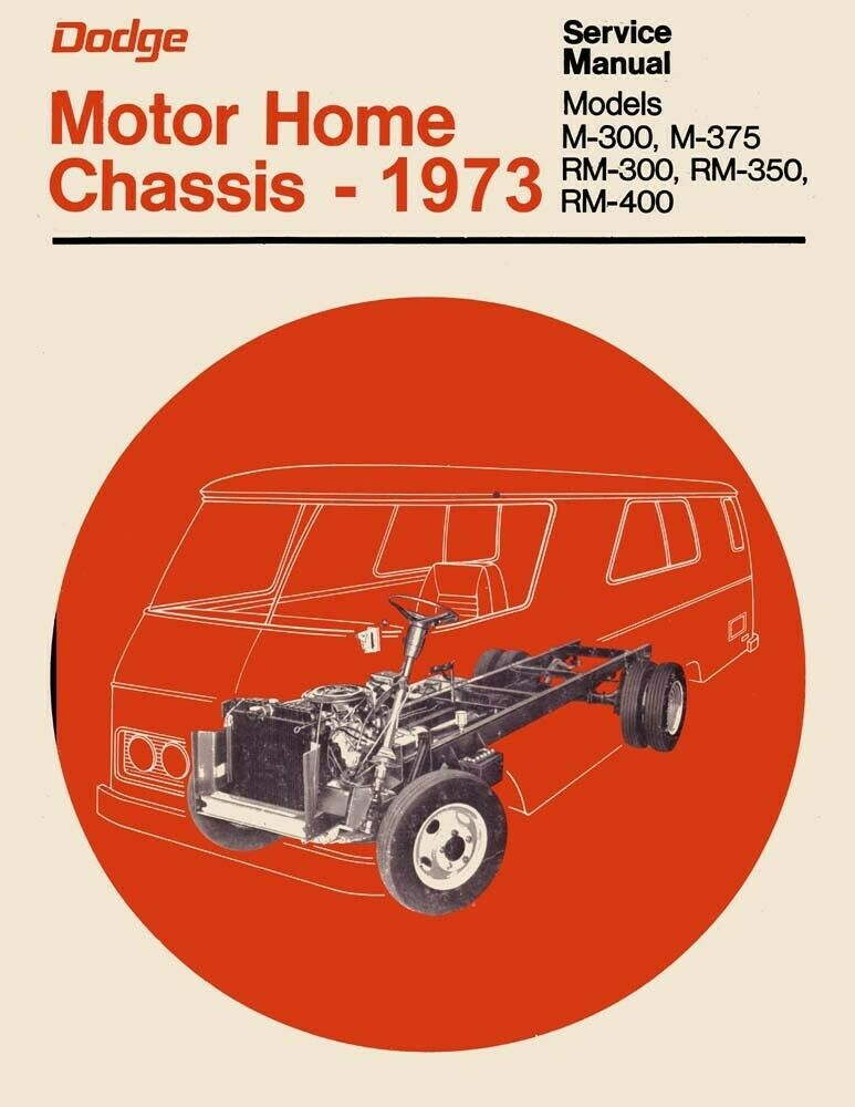 1973 dodge class a motorhome chassis shop service repair manual book 1973 dodge class a motorhome chassis shop service repair manual book guide oem ebay publicscrutiny Choice Image