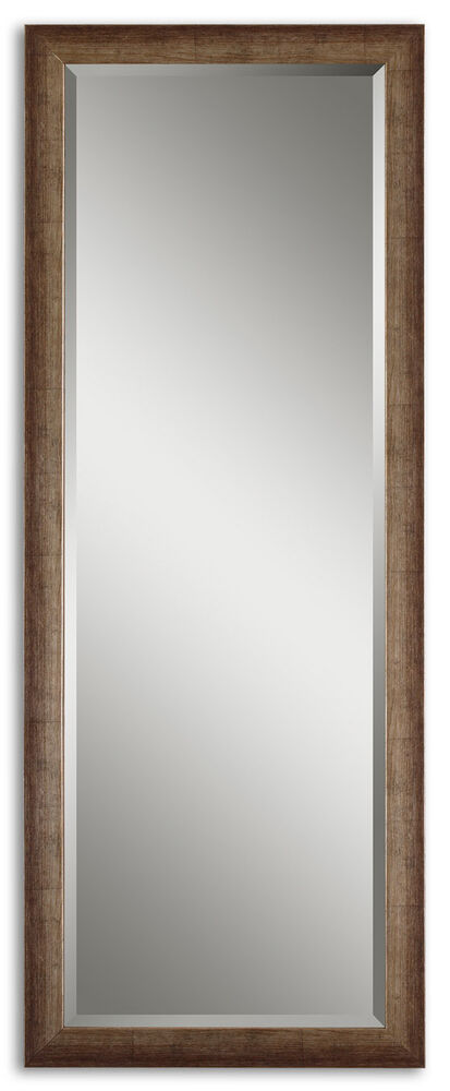 Classic 64 silver leaf full length dressing wall mirror for Silver long mirror