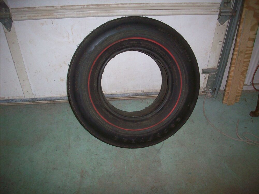 Nos Goodyear Red Stripe H70 X 14 Custom Wide Tread