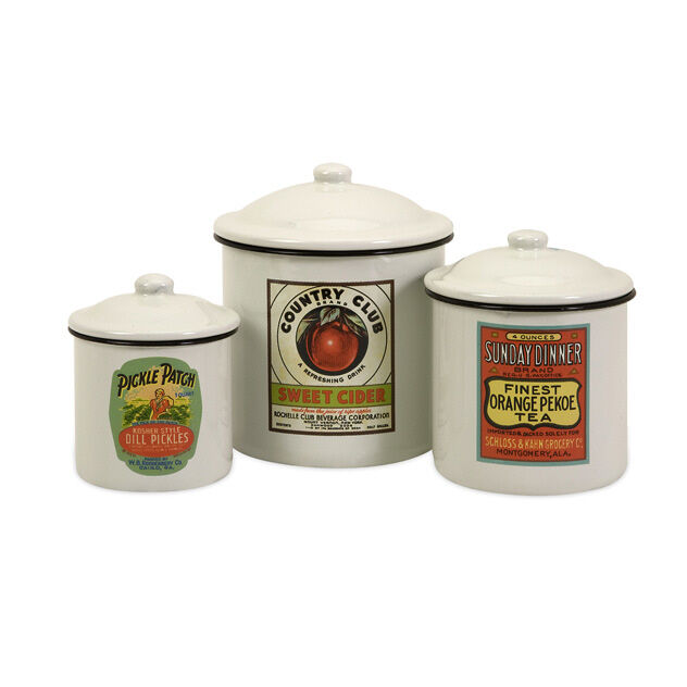 Lighthouse Kitchen Canister Set