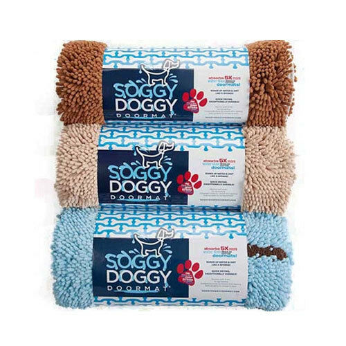 Soggy Doggy Super Absorbent Durable Dog Doormat Crate