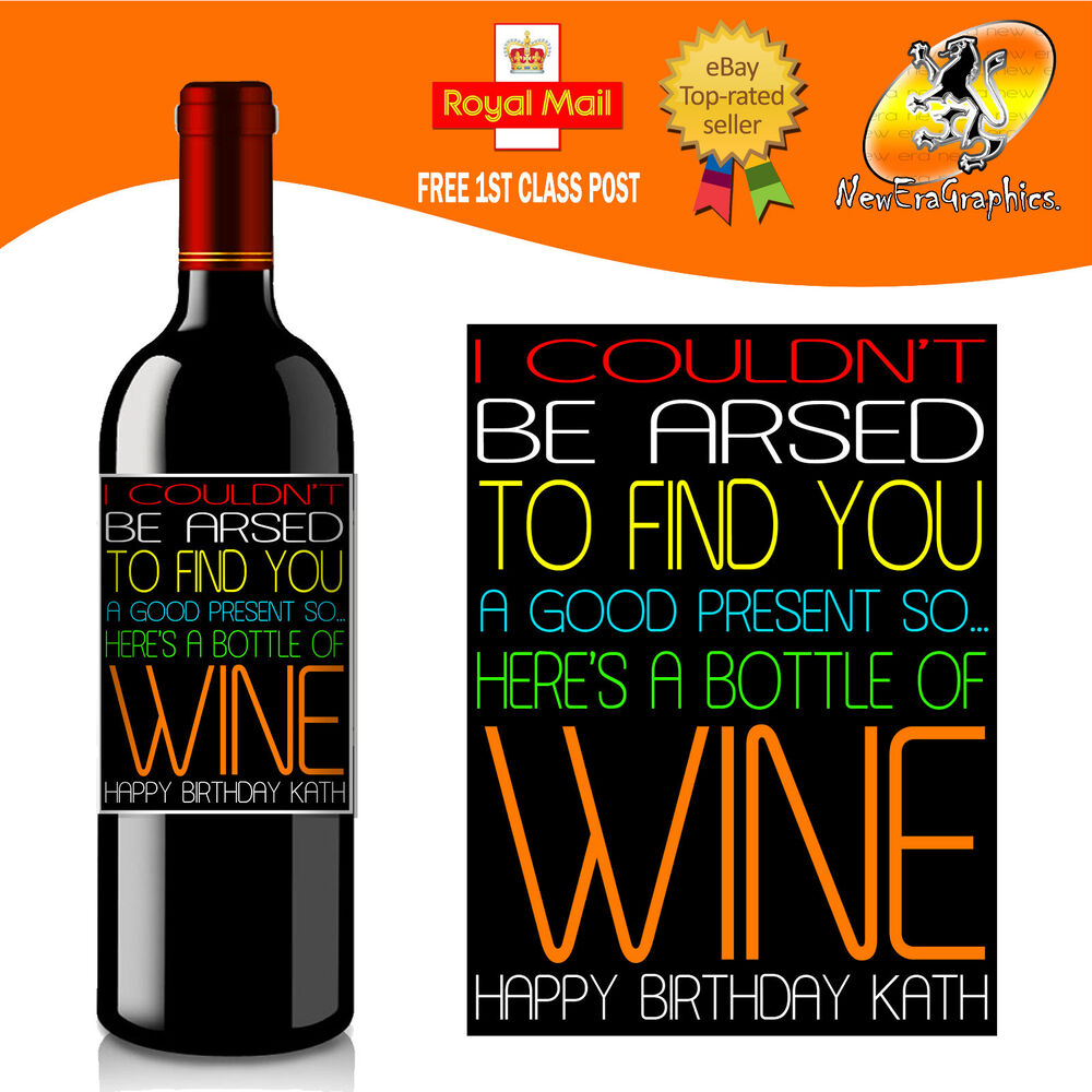 Personalized Wine Labels Christmas Wine Labels Funny Wine |Weird Wine Labels