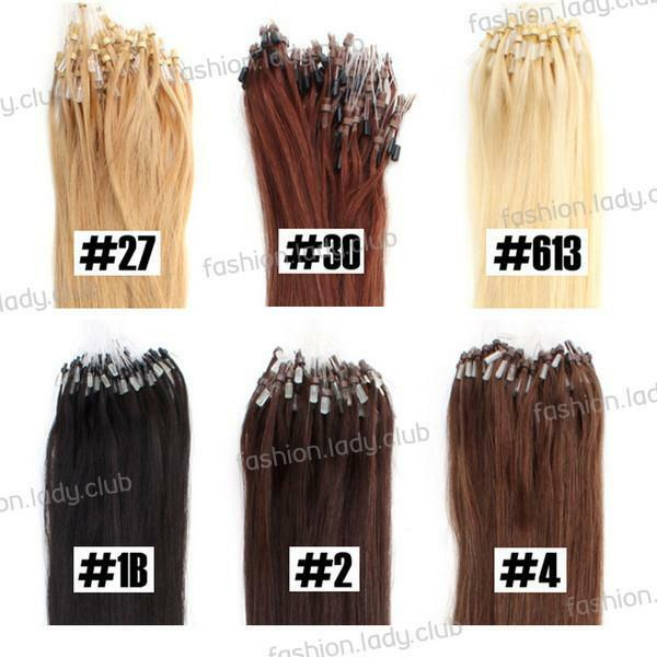 Micro Ring Color Hair Extensions 53