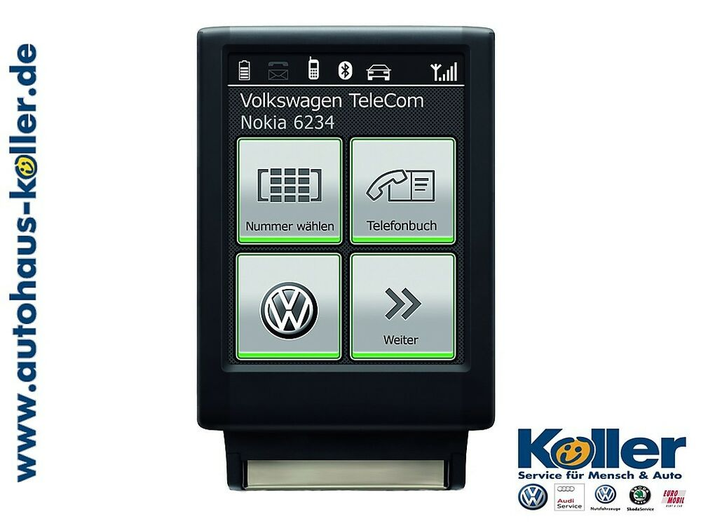original vw bluetooth touch adapter 3c0051435ta ebay. Black Bedroom Furniture Sets. Home Design Ideas