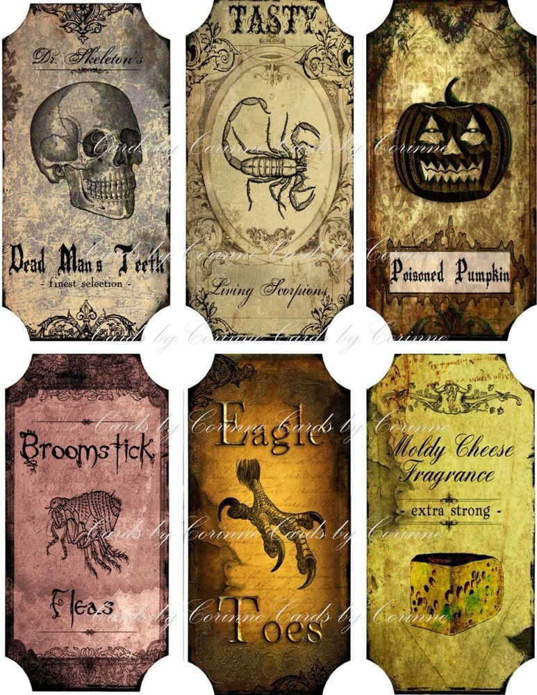 It's just a picture of Ridiculous Printable Potion Labels