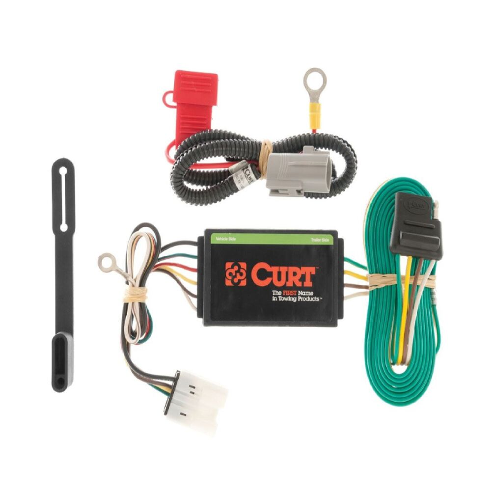 curt trailer hitch wiring connector 56102 for 2007 2011. Black Bedroom Furniture Sets. Home Design Ideas