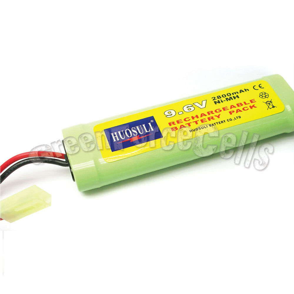 1x 9 6v nimh 2800mah super power rechargeable battery pack for rc cell ebay. Black Bedroom Furniture Sets. Home Design Ideas