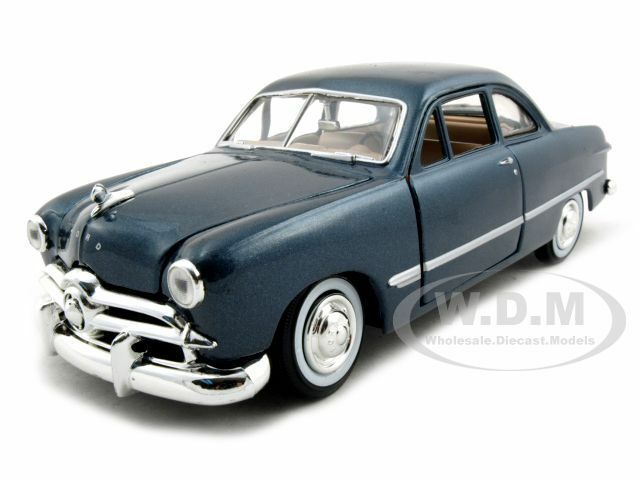1949 Ford Coupe Blue 1 24 Diecast Model Car By Motormax