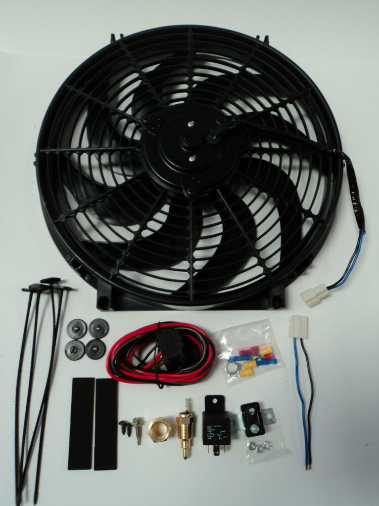 Wiring Diagram Radiator Electric Fan : Wiring diagram for aftermarket radiator fans get