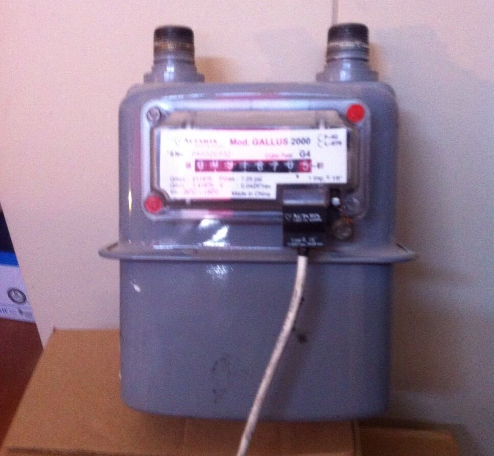 how to read a gas meter australia