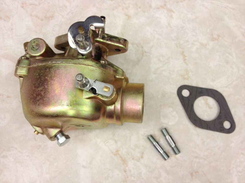 Ford 8n Carburetor Parts : N c hd marvel schebler carburetor ford tractor
