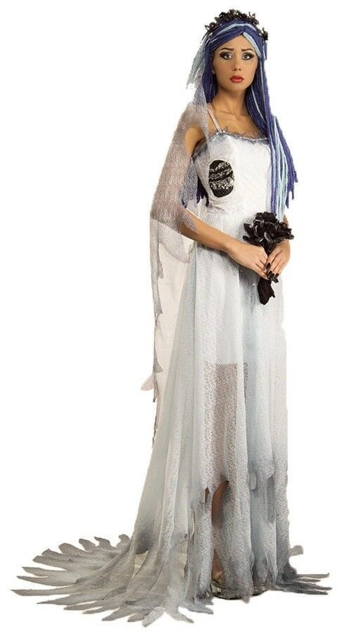 THE CORPSE BRIDE ULTRA DELUXE COLLECTABLE ADULT WOMENS COSTUME Wedding Halloween