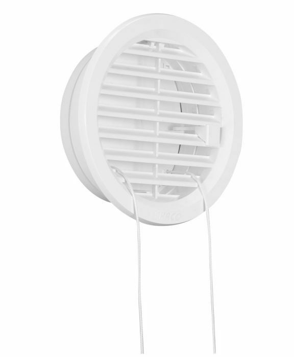 Adjustable circle air vent grille cover 100mm ducting for Furniture covers air vent