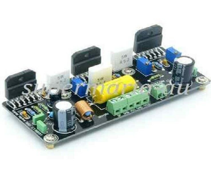 high quality diy lm3886 x3 parallel power amplifier board 150w assembled hifi ebay. Black Bedroom Furniture Sets. Home Design Ideas
