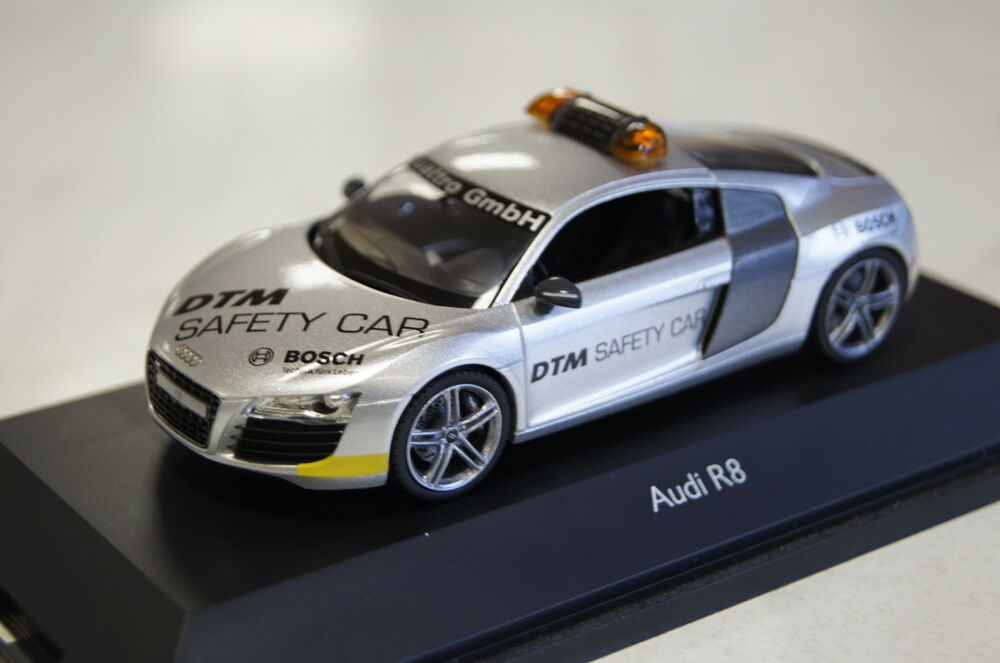 audi r8 safety car dtm 2008 1 43 schuco neu ovp ebay. Black Bedroom Furniture Sets. Home Design Ideas