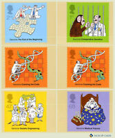 2003 The Secret of Life, DNA PHQ 250 - Mint Set of 5 Royal Mail Post Cards