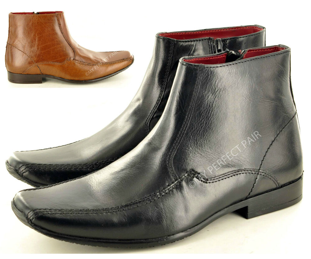 new s italian style genuine leather formal chelsea