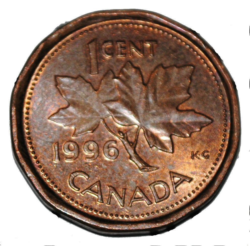 Canada 1996 1 Cent Copper One Canadian Penny Coin Ebay