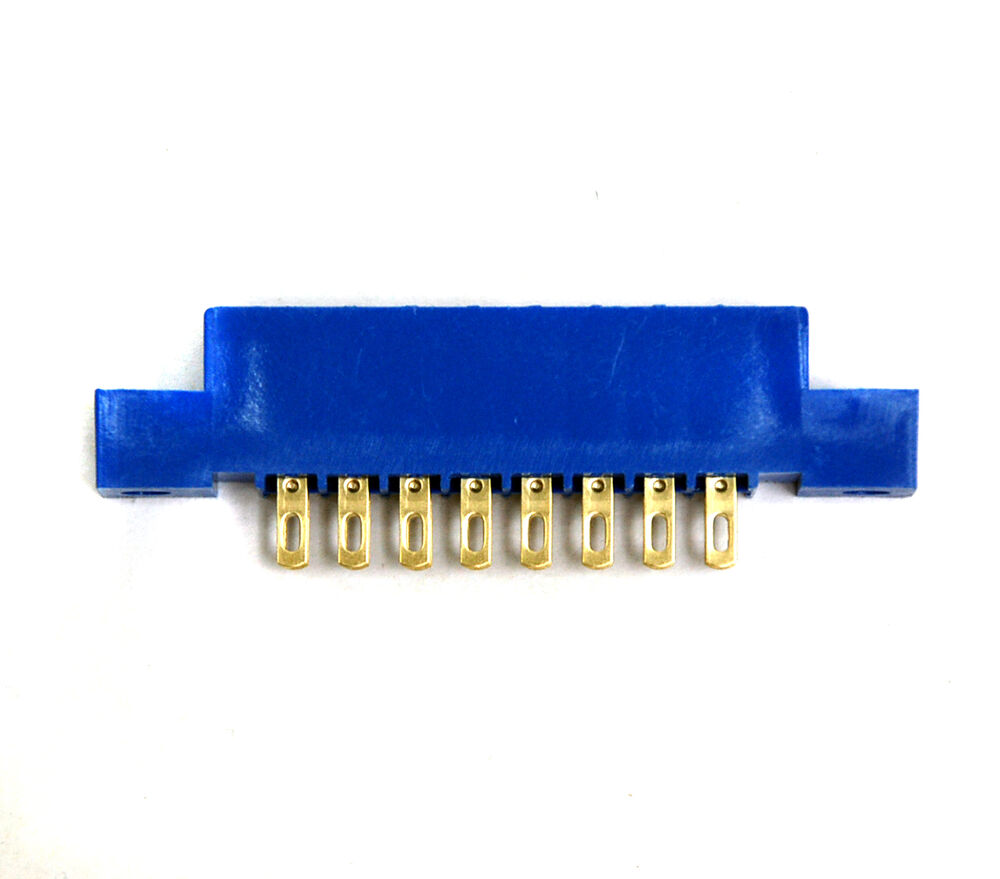 10pc Card Edge Connector LW-S8A2G 8Px2 Pitch=3.96mm Solt