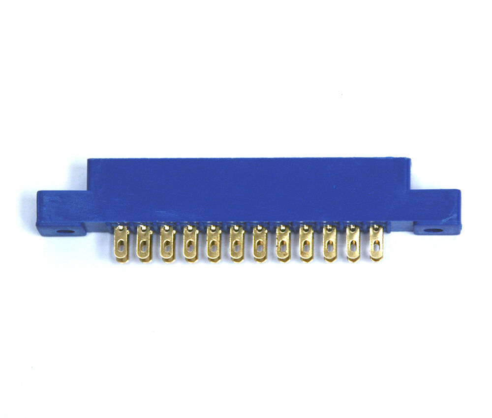 10pc Card Edge Connector LW-S12A2G 12Px2 Pitch=3.96mm Solt