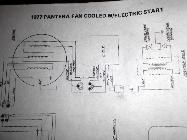 Arctic Cat Wiring Diagram 1977 Pantera Fan Cooled Electric