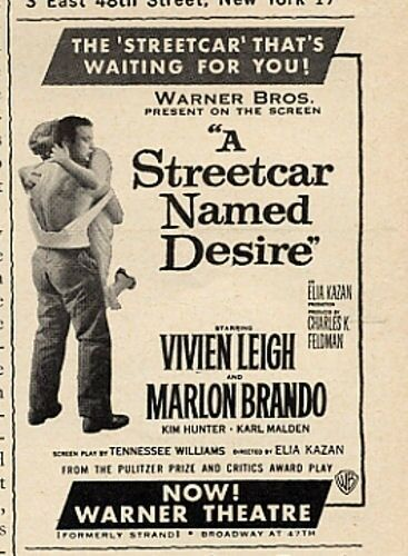 "plastic theatre in a streetcar named desire Williams named this kind of theatre ""plastic theatre"" (williams 395), where his plays had  streetcar named desire (see appendices for plot summaries."