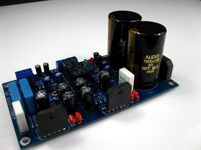 assembled ne5532 lm3886 audio power amplifier board with protection circuit ebay. Black Bedroom Furniture Sets. Home Design Ideas
