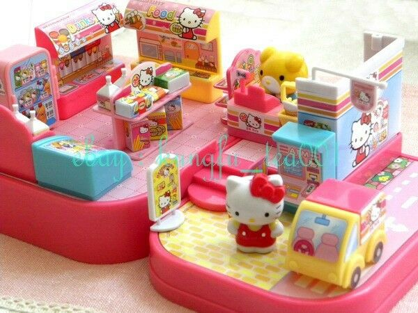 Hello Kitty Toy Food : Sanrio hello kitty miniature toy quot convenience store