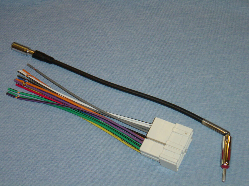 Radio install stereo wire harness and antenna adapter