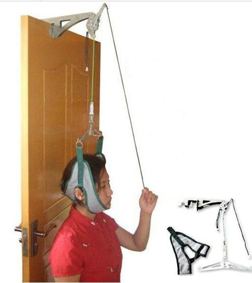 over the door neck traction device instructions